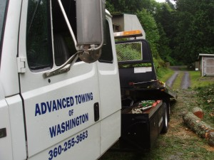 Advanced Towing of Bellingham WA diversifies into logging...